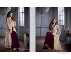 Women's clothing Long Dresses-Long Gown-Designer Chaniya Choli-Saree