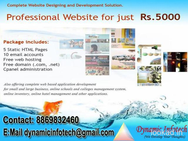 Affordable Web Design and Development Service in Bareilly Call 8869832460