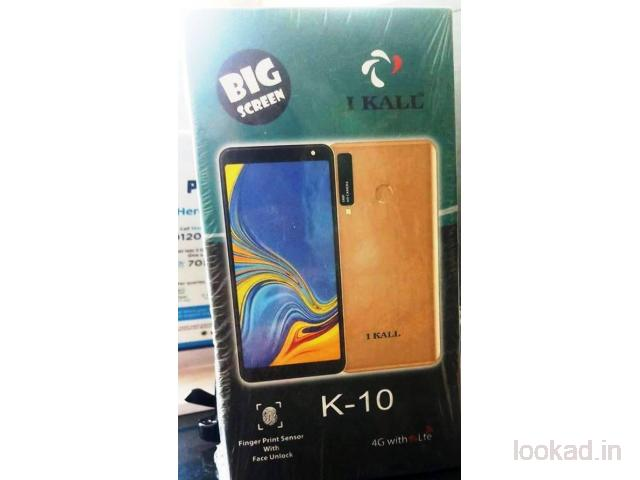 IKALL K10 2GB RAM , 16GB INTERNAL GOLD COLOR COURIER  CHARGE WILL BE EXTRA