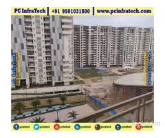 Jlpl falcon view Mohali road facing 3bhk flats 95O1O318OO