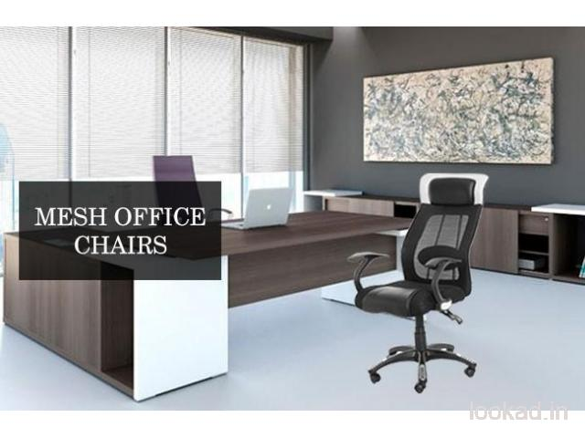 Buy the best Mesh Office Chairs from VJ INTERIOR