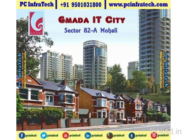 300 sq yard allotted plot at Gmada IT City Mohali 95O1O318OO