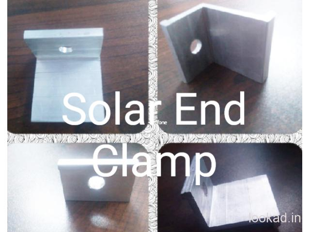Solar Panel Mounting Clamps in India