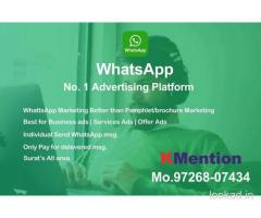 WhatsApp Marketing-Pamphlet Marketing  By KMention