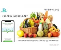 Grocery Booking App
