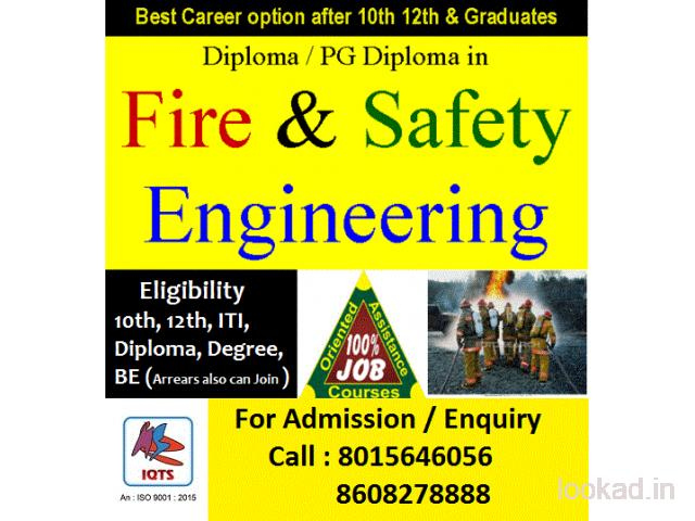 B.sc fire Industrial Safety