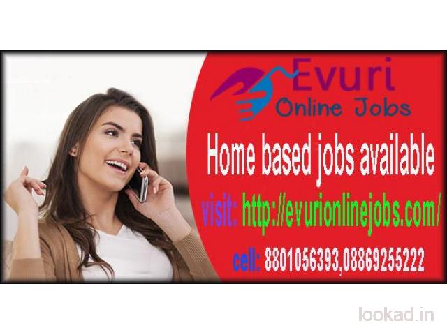 Simple Typing Work From Home / Part Time Home Based Computer Job