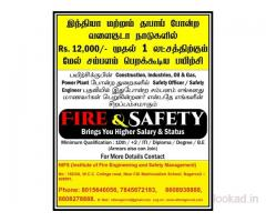 Diploma in fire safety courses