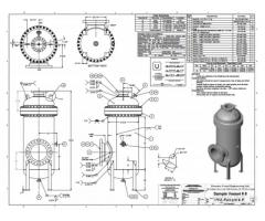 Vessel Fabrication Design Company in India – Ked India