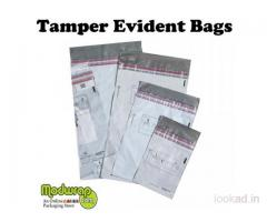 What are the benefits of using Security Tamper Evident Bags ?