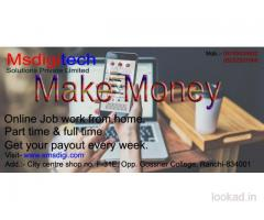 Home based part time Job.