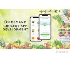 On demand grocery app development