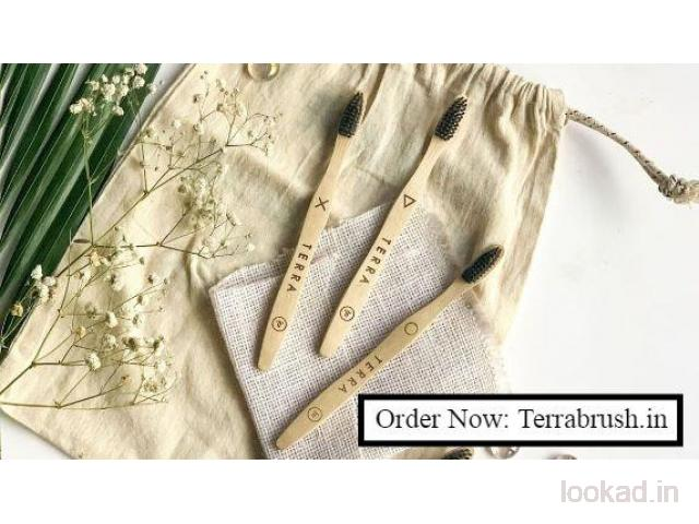 Bamboo toothbrush India - Terrabrush