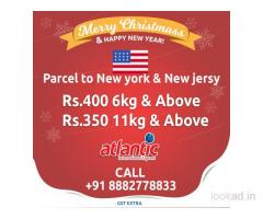 This Christmas, get exciting offers on International courier service to USA