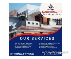 Design Building Plans and Elevations Palakkad Muthalamada Pudhunagaram