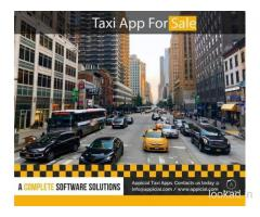 Taxi App For Sale