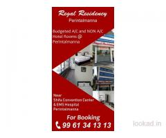 Regal Residency Economic Hotel Rooms @ Perinthalmanna