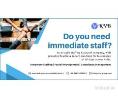 Do You Need Immediate Staff - KVB Staffing Solutions