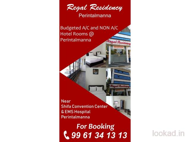Regal Residency NON AC Rooms @ Perinthalmanna
