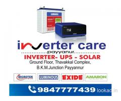 Inverter shop in padanna trikaripur cheruvathur