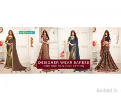 catalogue saree manufacturer in Surat