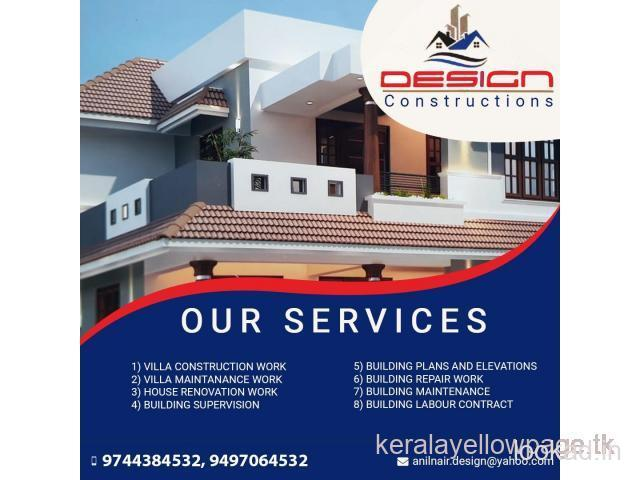 Design Building Plans and Elevations Palakkad Nalleppilly Moolathara