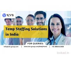 Temp Staffing Solutions in India, Temporary Staffing Services in India