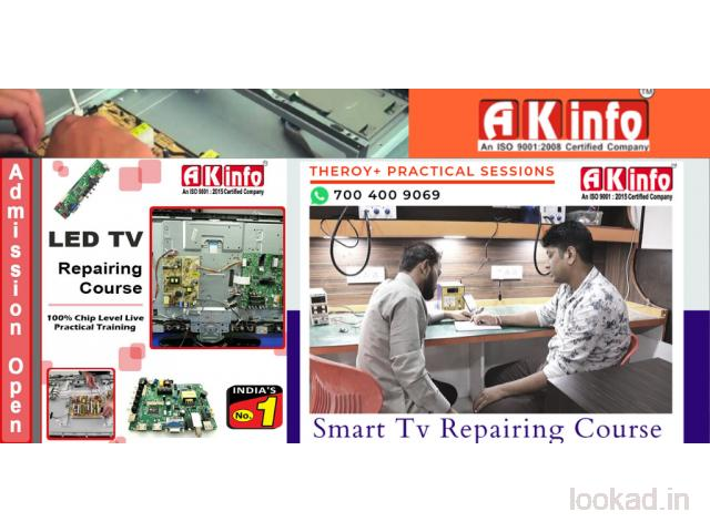 LED TV Repairing Course in Shalimar Bagh North West Delhi