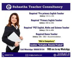 Teachers Consultancy in Hyderabad