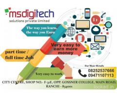 Home based internet jobs in ranchi