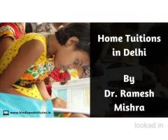 Hindi Home Tutor in Delhi, Hindi Tutor in Delhi NCR