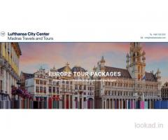 Book A Premium Europe Tour Package Through Madras Travels