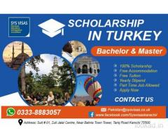 Scholarship in Turkey (Bachelor & Master)