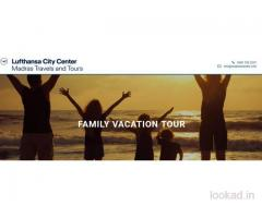 Enjoy the Family Vacations with Madras Travels and Tours