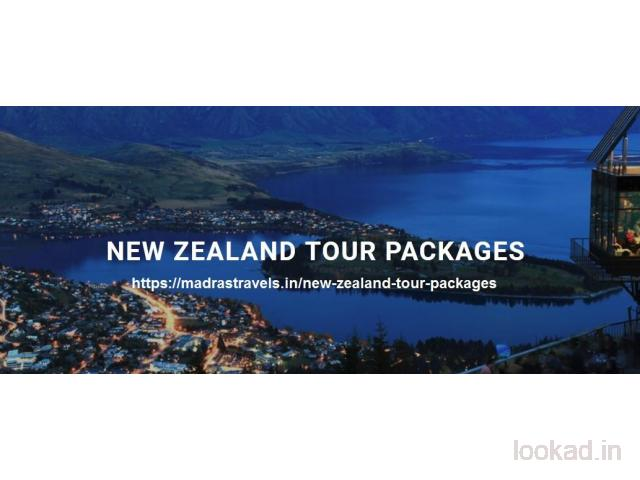Book A Premium New Zealand Tour Package Through Madras Travels