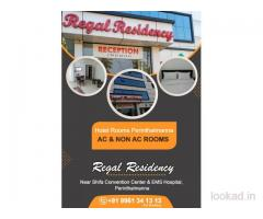 Regal Residency Hotel Reservations Near Perinthalmanna Malappuram