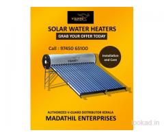 Madathil Enterprises - Solar Water Heaters Kollam - Geyser Kollam - V Guard Dealers in Kollam