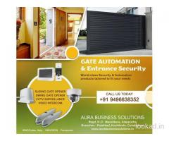 Automatic Gates Kozhikode - Aura Business Solutions - Palakkad-Thrissur-Kozhikode