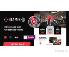 Stamin - Fitness and Gym WordPress Theme by zozothemes