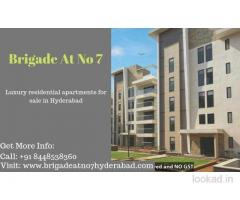 Best price apartments is Brigade At No 7 Price