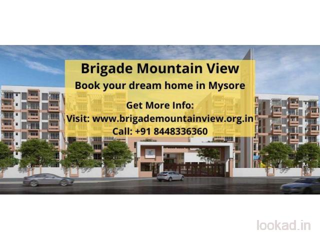 Ultra lavish residential apartments for sale in Brigade Mountain View