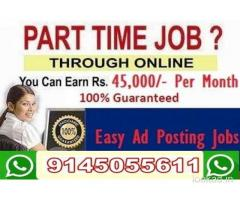 We are Hiring – Earn Rs.25000/- Per month – Simple Copy Paste Jobs