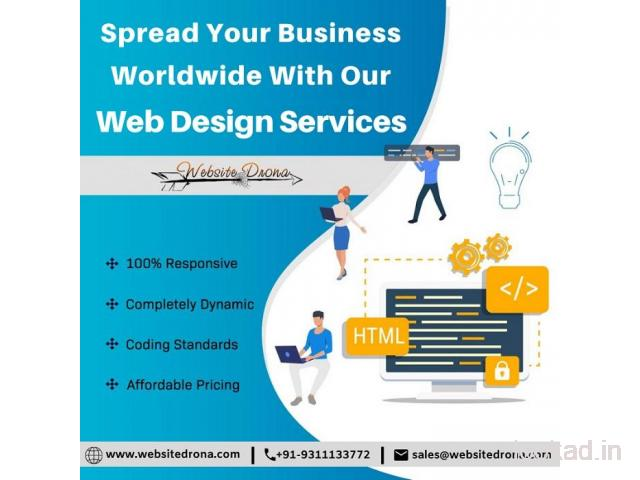 Best Responsive Website Designing Company in Delhi NCR, Best Website Designing Services in Delhi NCR
