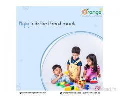 Top Playschool in Electronic City | AECS Layout | Orange Preschool & Daycare