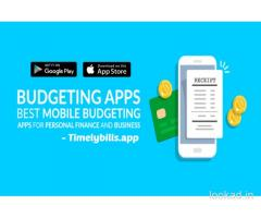 Best expense manager app - timelybills.app