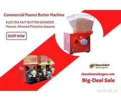 Commercial Peanut Butter Machine - Nut Butter Machine - chocolatemelangeur.com
