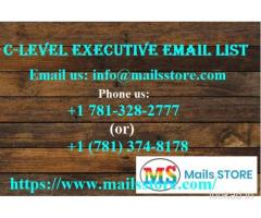 C-Level Executives Email Lists | C-Level Executive Mailing Addresses Database