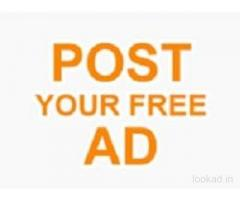 Post Free Classifieds Ads In India - Usa - Australia - Dubai