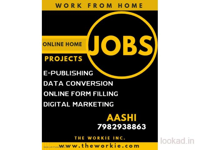 Typing/Ad-Posting/Form Filling Jobs