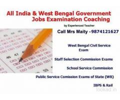 Rail, PSC, IBPS, WBCS, SSC, Staff Selection Exam Class Kolkata